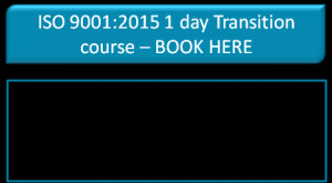 day ISO 9001:2015 Auditor/Lead Auditor transition course - provides ...
