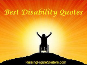 Best Disability Quotes and Word Art Quotation Freebies in honor of the ...