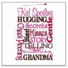 Cute Grandma Sayings