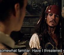 jack sparrow, johnny depp, movie, movie quote, orlando bloom, pirate ...