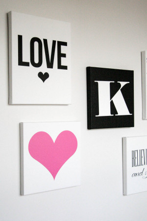 Canvas Art for Kate's Room…