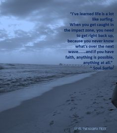 Soul Surfer quote † so refreshing to have a wholesome, Christian ...