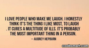 laughter quote i love people laughter quote