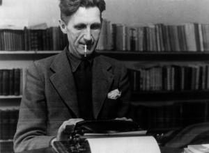 George Orwell (em foto acima), autor dos cultuados Revolução dos ...