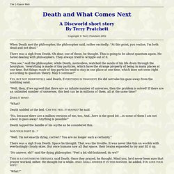 Death and What Comes Next
