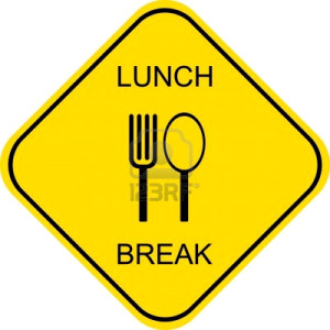 Sample Out to Lunch Signs http://michaelobermire.com/no-free-lunch