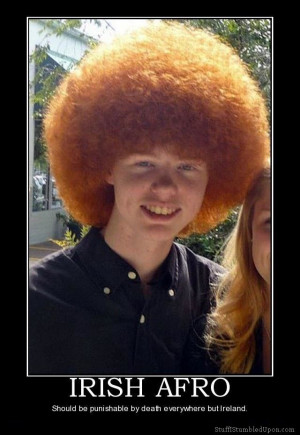 45 weeks ago irish afro redhead afro meme joke lol funny jpg 640