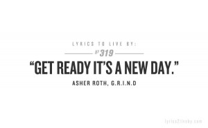 Get Ready, It's a New Day