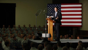 candidate, Wisconsin Gov. Scott Walker, gives a foreign policy speech ...