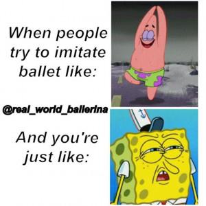 Ballet is not easy!