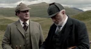 Lord Grantham and Shrimpy Fletcher