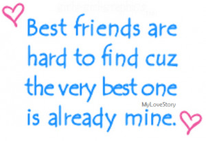 your appreciation using cute quotes for your best friend best friends ...