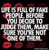 Fake people.