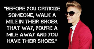 ... celebrate Justin Bieber's 'retirement' with some of his dumbest quotes