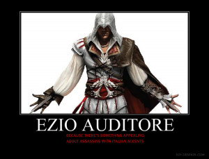 Ezio Auditore Motivational by HC-IIIX