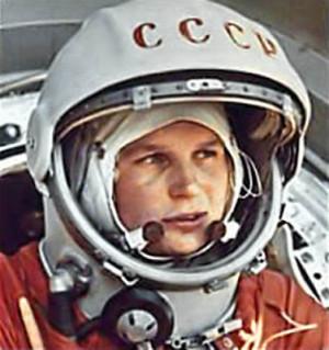 Valentina Tereshkova, la Greta Garbo del espacio