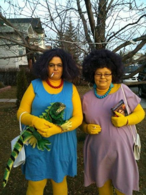 See the Real-Life Version of Patty and Selma From The Simpsons