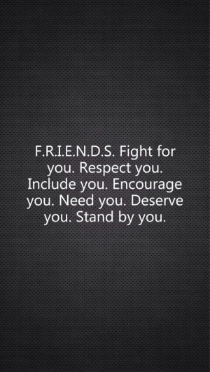 ... friend, as well as the importance of defining what friendship means to