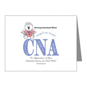 Week Gifts > Cna Week Thank You Cards & Note Cards > Nursing Assistant ...