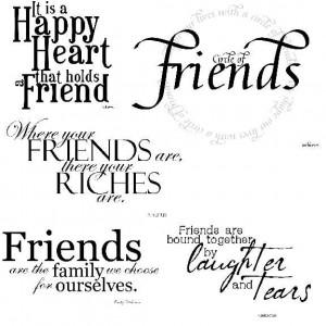 Good Friend Handbook -- A Conduct Manual