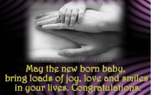 Congratulations wishes on child Birth New Born Baby Boy, New Born Baby ...