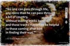 Girls Guide, Robert Badenpowel, Baden Powell 1857, Quotes Baden Powell ...