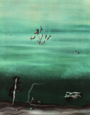 Yves Tanguy Les Amoureux The