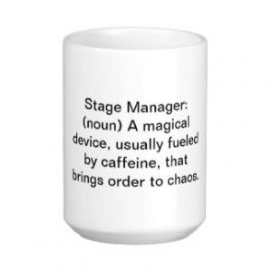 Stage Manager Definition Mug