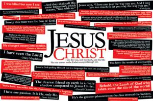 Jesus Christ 36 QUOTES Poster - Slingshot Publishing