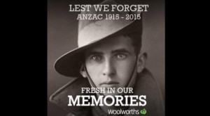 Woolworths Anzac Day tribute has backfired after it was hijacked by ...