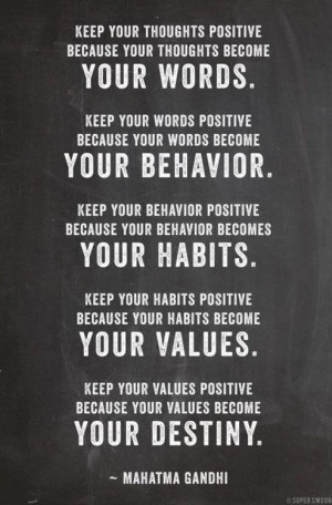 Gandhi Quotes – Keep Your Words