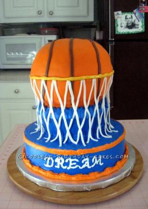 Awesome MVP Basketball Birthday Cake - 8