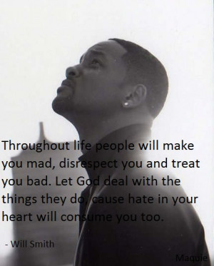 ... god deal with the things they do cause hate in your heart will consume