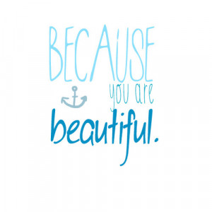 anchor, beautiful, blue, love, pretty, quote, sea, water