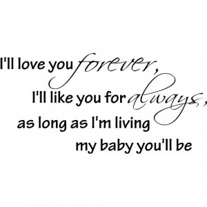 Love You Baby Forever And Always