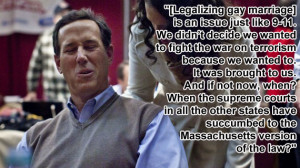 Ten Craziest Rick Santorum Quotes
