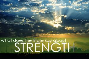 When I am Weak, Then I am Strong! – 2 Corinthians 12:7-10