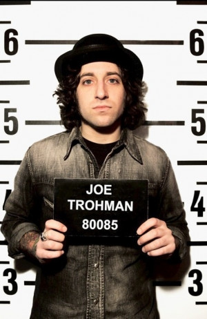 Joe Trohman, Fall Out Boy. Assuming this was for Angels & Kings but I ...
