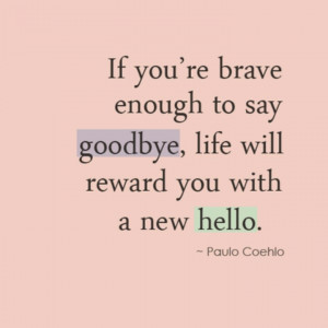 Goodbye & Hello