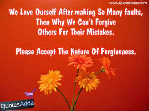 Quotes About Mistakes And Forgiveness