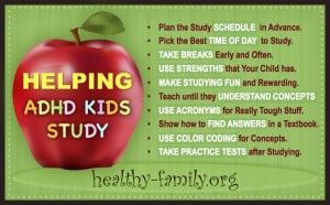 ... ADHD kids study: Get 10 tips forparents to use at home with their ADHD