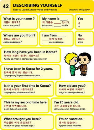 istheworldyouroyster:Korean Language 한국어 – Easy Korean Series ...