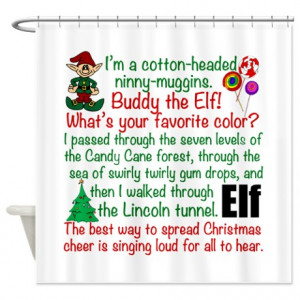 buddy the elf gifts buddy the elf bathroom decor elf movie quotes ...