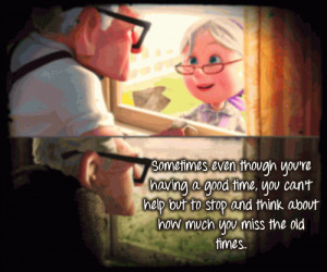 Missing Old Times Quotes Good time, you can't help