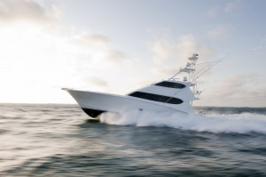 Sport Fish Yacht at Speed 300x199 Sport Fish Yacht at Speed