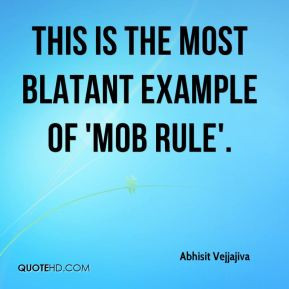 Mob rule Quotes