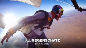 Ueli Gegenschatz soars in a wingsuit Video on TED