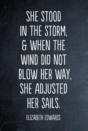 inspirational quotes, adjust your sails
