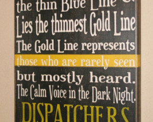 911 Dispatcher Quotes And Sayings ~ Popular items for 911 dispatchers ...