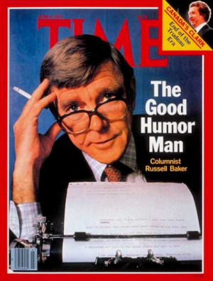 Russell Baker - June 4, 1979 - Journalism - Media